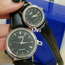 CASIO ANALOG LEATHER DRESS COUPLE LOVER PAIR WATCH MTP/ LTP-1095E-1A GIFT