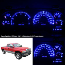 Super Blue Instrument Cluster LED Light Bulbs for 98-01 Dodge Ram 1500 2500