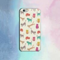 Cats iPhone XR Case Cute iPhone 7 8 Plus Cover Funny Print iPhone 11 Pro Animal