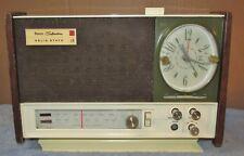 Vintage SEARS SILVERTONE 8048 AM/FM/Alarm Clock Radio Analog Project J0798