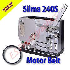 SILMA 240S standard 8mm sonoro alle cine proiettore Cinghia (motore principale Cintura)