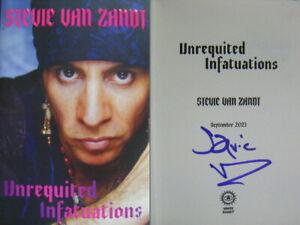 Signed Book Unrequited Infatuations A Memoir by Stevie Van Zandt Hdbk 2021 1st E