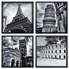 Canvas Print Wall Art Painting Home Decor World Attractions Gray City Landscape