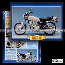#115.04 Fiche Moto SUZUKI GS 400 (GS400) 1976-1980 Motorcycle Card