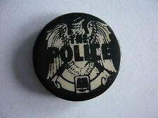 THE POLICE - VINTAGE BUTTON BADGE