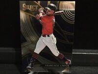 2020 Panini Select Francisco Lindor Sensations Insert Cleveland Indians ☘️
