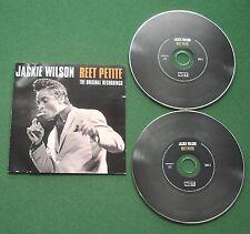 Jackie Wilson Reet Petite Original Recordings inc Bobby Sox Baby + 2 x CD