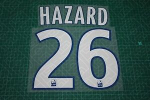 Flocage HAZARD Lille - maillot  Patch Football Losc