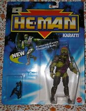 Vintage 1989 He-Man Masters of the Universe KARATTI Mattel Action Figure #3529