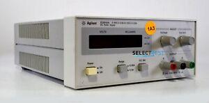AGILENT (HP) E3612A POWER SUPPLY 0-60 (120) VOLTS, 0-0.5 (0.250) AMPS (REF 174G)