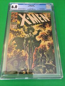 X-Men #50 Nov 1968 2nd Polaris & Mesmero. CGC 6.0 Steranko Cover Marvel
