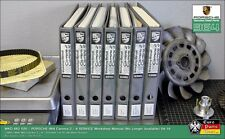 PORSCHE 964 Workshop Service Manual Book Set Factory Original Print WKD 482 520