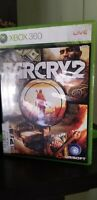 Far Cry 2 (Microsoft Xbox 360, 2008) W Manual