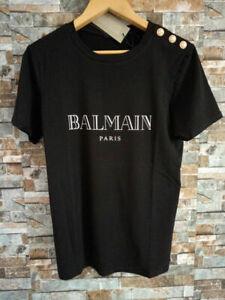 Balmain Paris Holographic Logo  T-Shirt