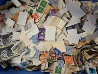 500 Great Britain Mainly Off Paper Stamp Collection -  Sorting Mixture.