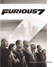 Brand New Furious 7 Movie (DVD, 2015) - Paul Walker, Vin Diesel The Fast and Fur