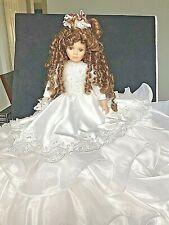 Vintage Porcelain Bride Doll, Classic Brides of the Century