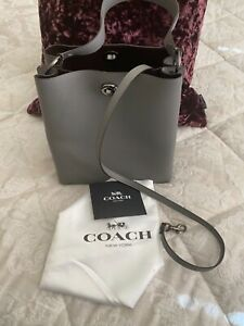 Coach Charlie grey bucket bag