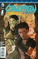Grayson Annual #1 Unread New Near Mint New 52 DC 2014 **30