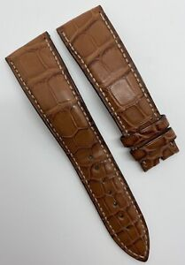 Authentic Blancpain 22mm x 18mm Brown Alligator Watch Strap Band 25H OEM
