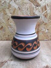 VINTAGE con motivo GRAFFITO vaso di terracotta - 12cm