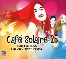 Cafe Solaire 25     2CDs 2017 Schwarz & Funk Sambox DJ Pippi