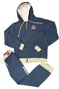Completo tuta da bambino blu Pickwick con cappuccio manica lunga zip junior moda