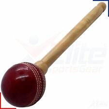 Cricket Bat Conditioner Knocker Knocking Mallet Leather Red Ball
