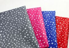 Mini star Laminated fabric Oilcloth WATERPROOF Stars grey pink blue red JBW43+