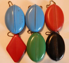 Vintage Squeeze Rubber Coin Holder Purse collection