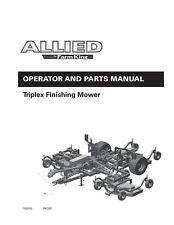 Farm King Triplex Finishing Mower Operator Instruction Amp Parts Manual Fk333