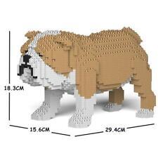 JEKCA Animal Building Blocks Kit for Kidults English Bulldog 01S-M03