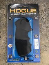 Hogue Round Butt Rubber Monogrip - S&W N Frame Black 25000