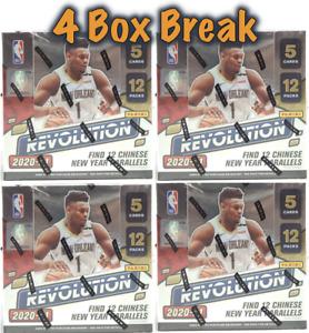 PHOENIX SUNS 2020-21 Revolution Chinese New Year NBA 4-Box Break #10
