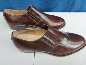 Samuel Windsor Hand Made Leather Slip-on Men's Shoes Size 10
