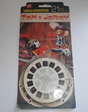 Tom & Jerry Viewmaster Reels conjunto BB 511 Juguete Vintage 1956 Original Rara (518)