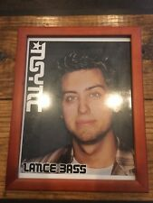 NSYNC Framed Lance Bass Picture/Print
