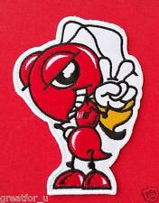 Patch Lo go Super ant on jackets or hat+for gift handmad