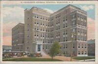 Postcard Elizabeth General Hospital Elizabeth NJ