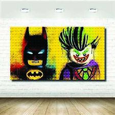 LEGO BATMAN COMIC SUPERHERO TOY GIANT ART PRINT PANEL POSTER NOR0104