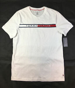 Tommy Hilfiger Crewneck Graphic Colorblock Sleepwear T-Shirt Men's Sz M NEW.