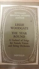 Woodgate: The Year Round: A Garland Of Songs For Female Voices: Music Score (B3)