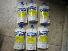 New ! 6 X 4 FL oz Hellmanns Real Mayonnaise Made with Cage free Eggs