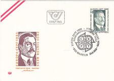 FDC 1983 - Mi 1743 , Werke des menschlichen Geistes Victor , SST 8122 Waldstein