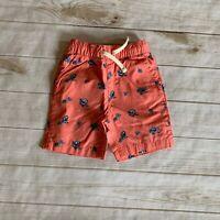 The Children's Place Toddler Boys Shorts Size 3T Orange Drawstring