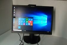 "Lenovo L2251x Wide 22"" LCD Monitor VGA DP USB L2251xwD 2578-HB6 45J8746 Webcam"