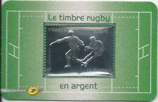 Blister 597 - Le timbre Rugby en argent - 2011