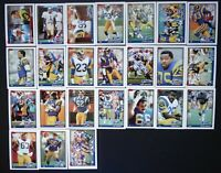 1991 Topps Los Angeles Rams Team Set of 24 Football Cards