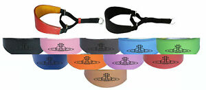 Leather Greyhound Whippet Hound Dog Collar Padded Suede Backing Martingale D10