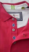 "NWT Robert Graham ""CAPTAIN"" X Collection ""Tailored Fit""  Red Shirt 2XL $128.00"